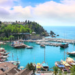 The Mediterranean gulf in Turkey — Stockfoto