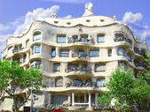 House Casa Mila (La Pedrera)in Barcelona building by the great Spain archit — Stock Photo