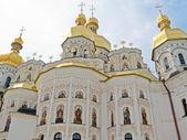 Uspenské katedrály v kyjevskopečerská lávra v kyjevě. — Stock fotografie