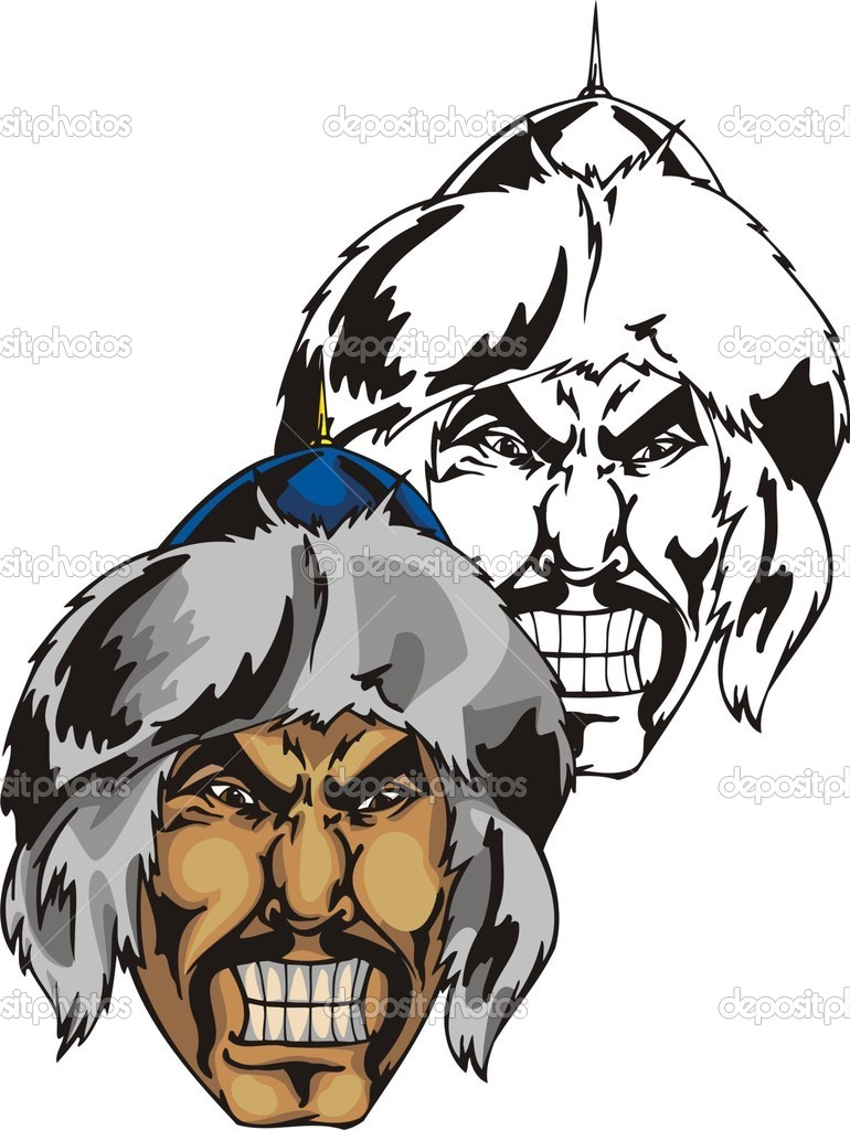 ... , Warrior Head Logo , Warrior Mascot , Indian Head Logo Clip Art