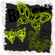 Royalty-Free Stock Vector Image: Tribal Butterflies - Set 1.