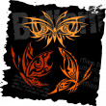 Tribal Butterflies - Set 12. — Stock Vector #2199919
