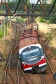 Train derailment — Stock Photo