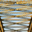 Steel bridge — Stock Photo