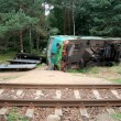 Stock Photo: Train crash