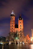 Old basilica in Krakow, Poland — Stock Photo