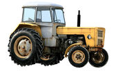 Yellow tractor — Stock Photo