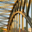 Steel bridge — Stock Photo #1933985