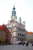 Poznan, polonya eski şehir — Stok fotoğraf