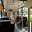 Stock Photo: Tram interior