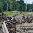 Stock Photo: Bended track