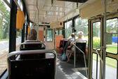 Intérieur de tram — Photo