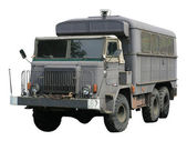 Vintage militär lastbil — Stockfoto