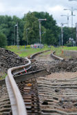 Bended track — Stock Photo