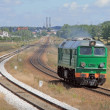 Stockfoto: Diesel locomotive