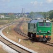 Stock Photo: Diesel locomotive