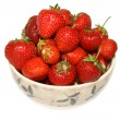 Strawberries in bowl — Foto Stock #1972233