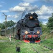 Stockfoto: Retro steam train