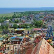 Aerial view of the amusement park — Stock Photo #1978135