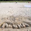 Aloha on the beach — Foto Stock