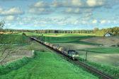 Locomotora diesel — Foto de Stock
