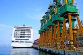 Scéna v přístavu — Stock fotografie