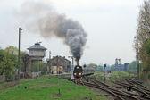 Scene at the railway station — Stock Photo