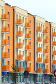 Novos apartamentos modernos — Foto Stock