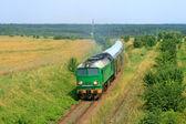 Yolcu treni — Stok fotoğraf