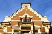 上部の建物のファサード — ストック写真