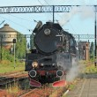 Foto Stock: Steam locomotive