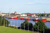 Harbour landscape — Stock Photo