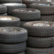 Used tires — Stock Photo #1897217