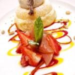 Gourmet dessert — Stock Photo #2497057