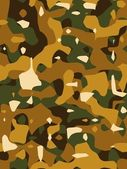 Brown Camouflage Texture — Stock Photo