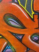 Detalle de graffiti — Foto de Stock
