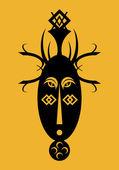 アフリカ マスク — ストックベクタ