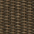 Braided wicker background — 图库照片