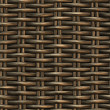 Braided wicker background — Stock Photo