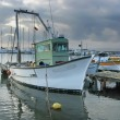 Stock Photo: Fisher boat