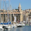 Marseille harbor — Stock Photo