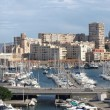 View of the Marseille old port entrance — Stock Photo