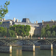 Paris - the bridge of Arts — Stock Photo