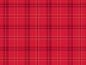Red Scottish tartan — Stock Photo