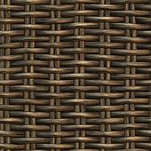 Braided wicker background — Stock Photo