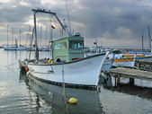 Fisher boat — Stock Photo
