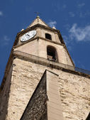The Accoules bell tower in Marseille — Stock Photo