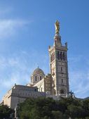 Marseille cathedral Notre-Dame de la Gar — Stock Photo