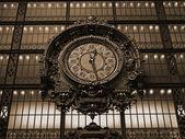 Paris - orsay museu de eski saat — Stok fotoğraf