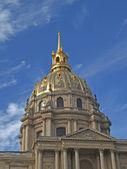 Paříž - kopule kaple invali — Stock fotografie